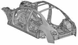 От геометрической к конечно-элементной модели автомобиля